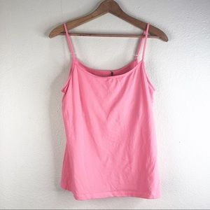 🌿 Tommy Bahama Neon Pink Tank Top